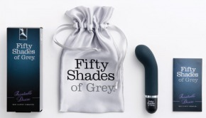 silicone vibrator, fifty shades of grey