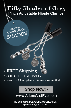 Fifty Shades of Grey Pinch Adjustable Nipple Clamps